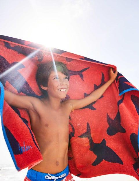 Beach Towel - Beam Red