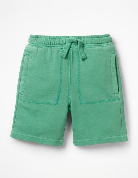 Garment-Dyed Sweatshorts - Jungle Green
