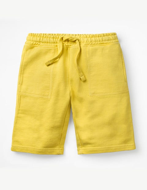 Garment-Dyed Sweatshorts - Mimosa Yellow