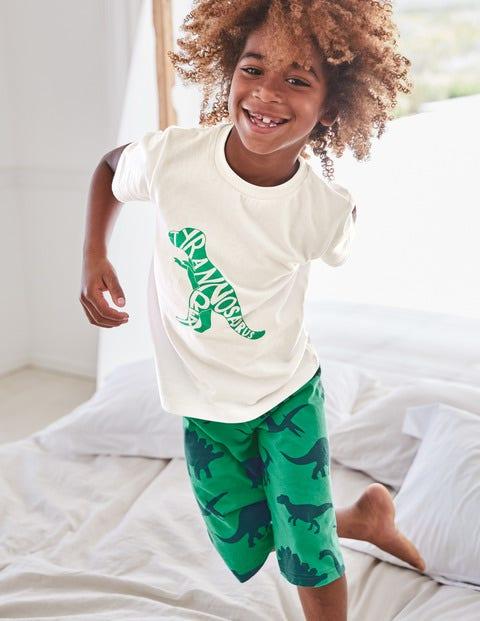 Graphic Pyjamas - Astro Green Dinosaur