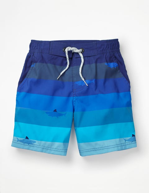 Short De Bain - Requins multi bleu