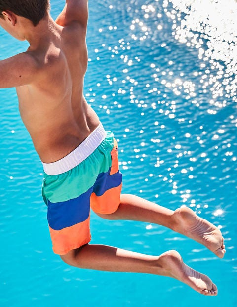 Poolside Shorts - Sea Breeze Blue/Duke Blue