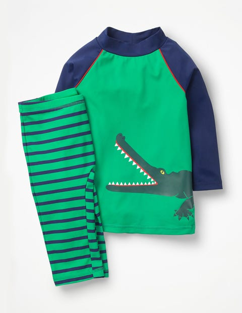 Surf Suit - Astro Green Croc