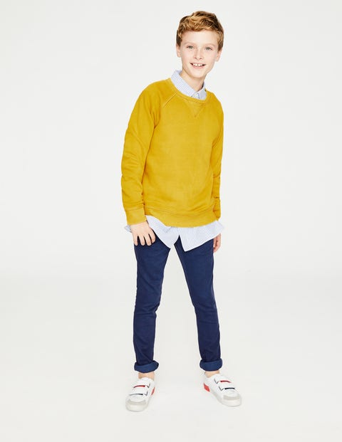 Garment-Dyed Sweatshirt - Mimosa Yellow