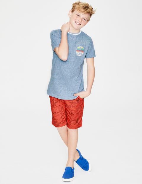 Surfer T-Shirt - Light Blue Marl