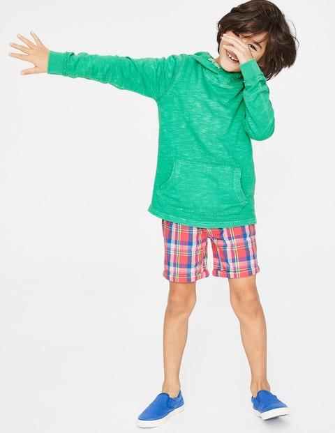 Garment-Dyed Slub Hoodie - Jungle Green
