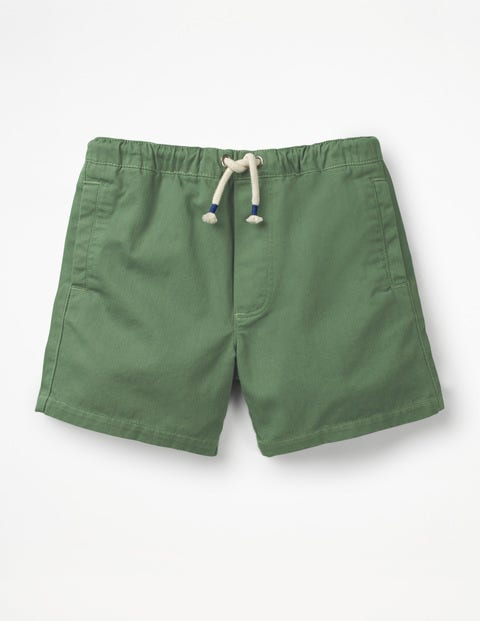 Drawstring Shorts - Safari Green