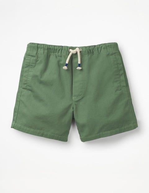 Short À Cordon De Serrage - Vert safari