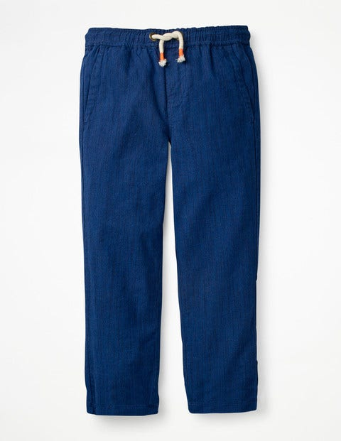 Summer Pull-On Trousers - Summer Blue