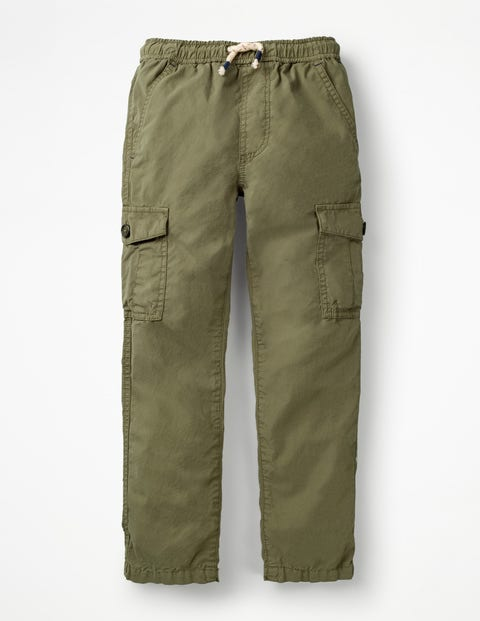 Lightweight Cargo Pants - Army Green