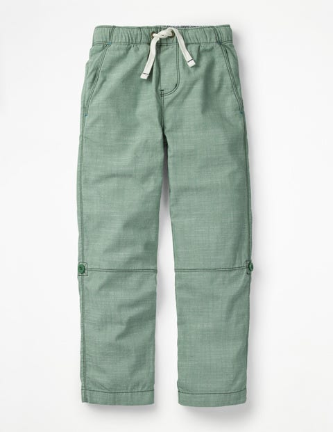 Surf Roll-Up Trousers - Rosemary Green