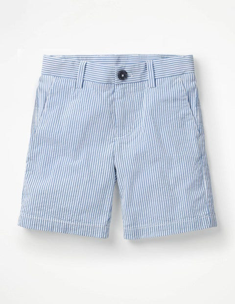 Smart Shorts - Wild Blueberry/White Stripe