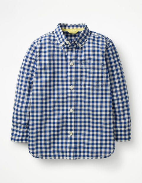 Smart Shirt - School Blue Gingham