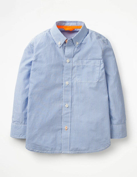 Smart Shirt - Wild Blueberry Blue/White