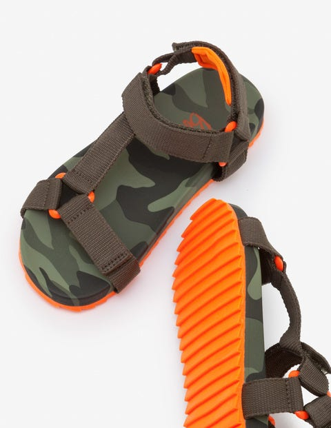 Camo Sandals - Ghillie Green