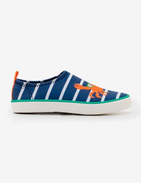 Aqua Shoes Lagoon Blue Ivory