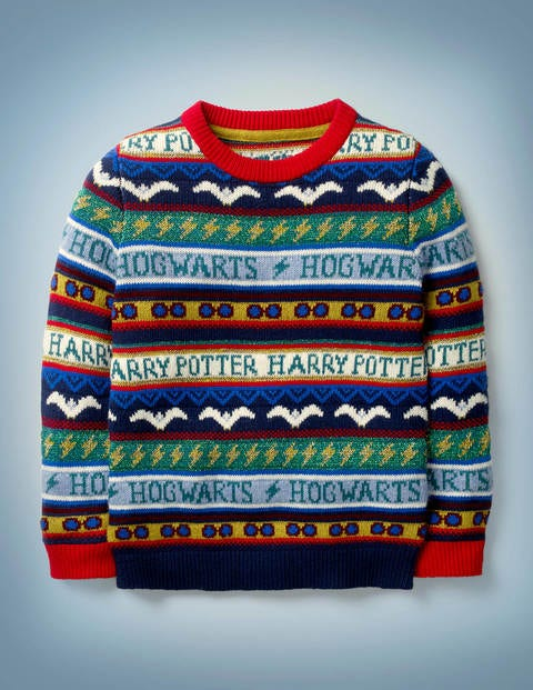 Pull Harry Potter motif jacquard