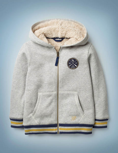 Seeker Zip-Up Hoodie - Grey Marl