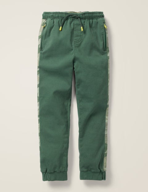Sporty Twill Jogger - Monster Green