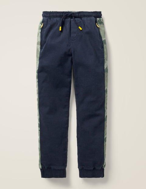 Pantalon De Survêtement En Sergé - Bleu marine