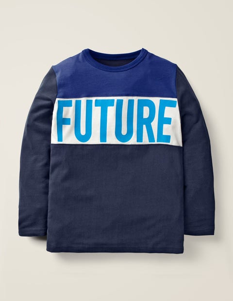 Future T-Shirt - Marineblau/Nachtblau