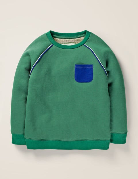 Cosy Sweatshirt - Camp Green