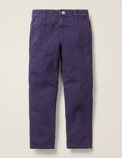 Relaxed Carpenter Trousers - Boysenberry Purple
