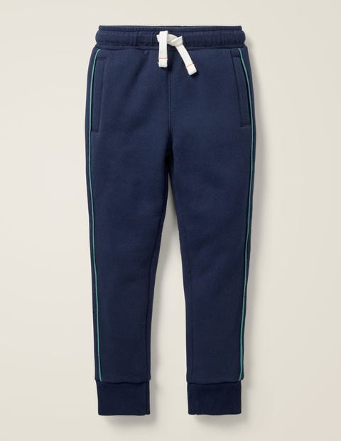 Pantalon De Survêtement À Doublure Molletonnée - Bleu éclatant