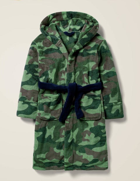 Dressing Gown - Willow Green Camo