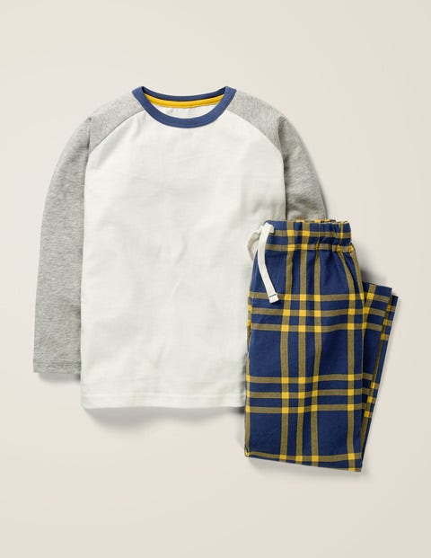 Raglan Brushed Pyjama Set