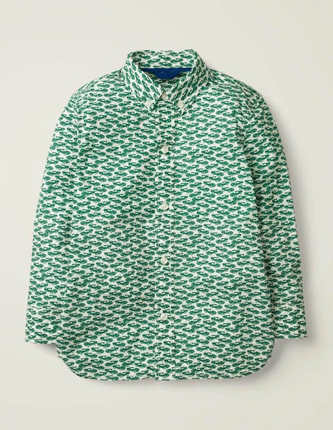 Laundered Printed Shirt