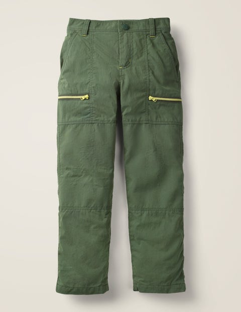 Lined Skate Trousers - Monster Green