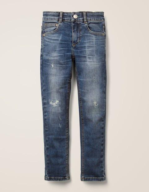 Adventure-Flex Skinny Jeans - Mid Vintage Rip/Repair