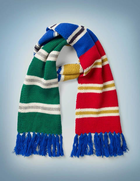 Hogwarts Houses Scarf - Multi Stripe