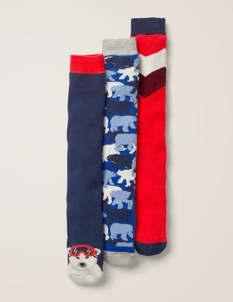 3 Pack Ski Socks - Polar Bears
