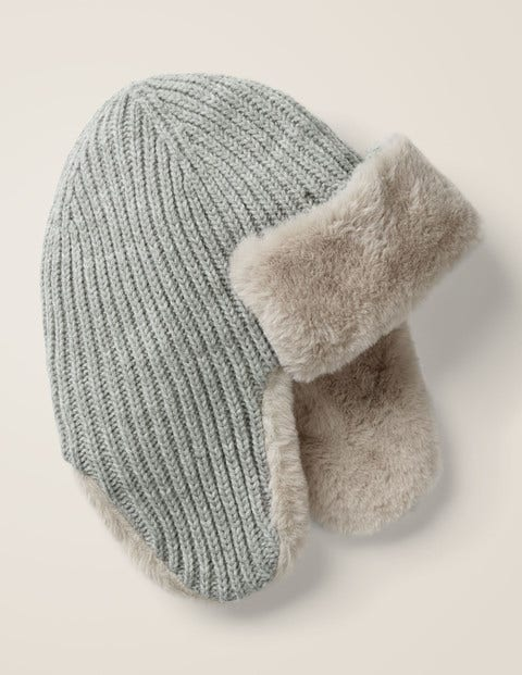 Cosy Knitted Trapper Hat