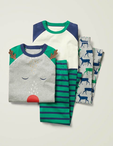 Festive Twin Pack Pyjamas