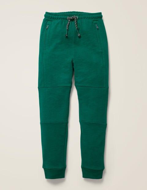 Mini Sweathose mit verstärkter Kniepartie Green Jungen Boden, Green grün |
