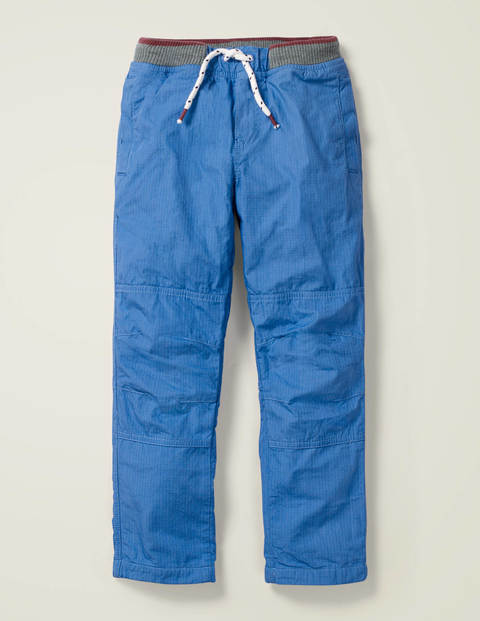 Cosy Lined Mariner Trousers - Bold Blue
