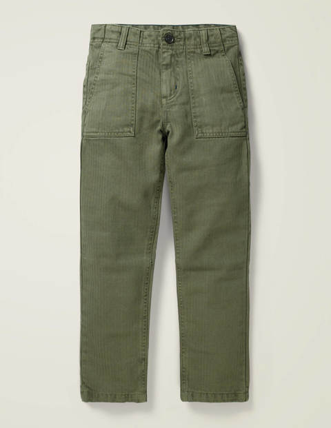 Gardener Trousers - Khaki Green