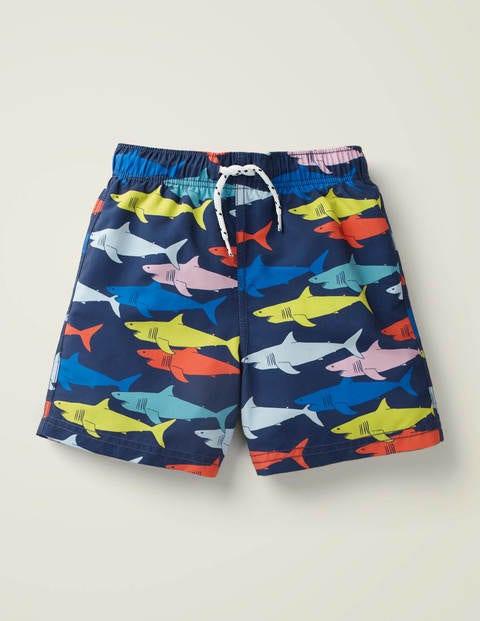 Woven Swim Trunks