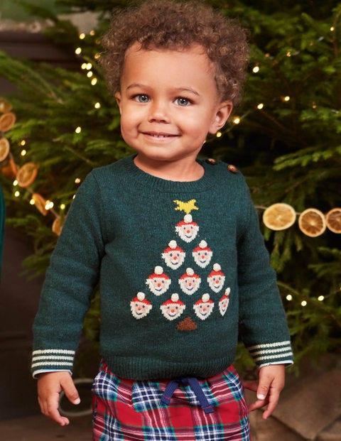 Lustiger weihnachtlicher Pullover