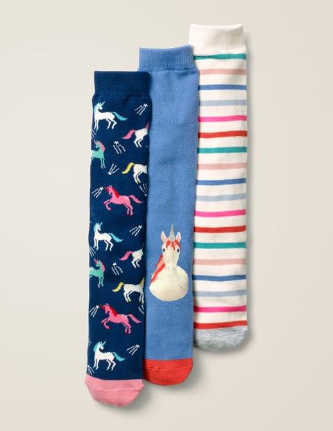 3 Pack Knee-high Socks