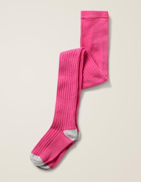 Ribbed Tights - Pink Sorbet