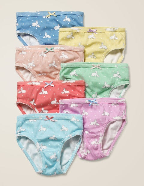 7 Pack Underwear - Bunnies