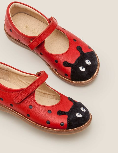 Novelty Mary Janes - Rockabilly Red