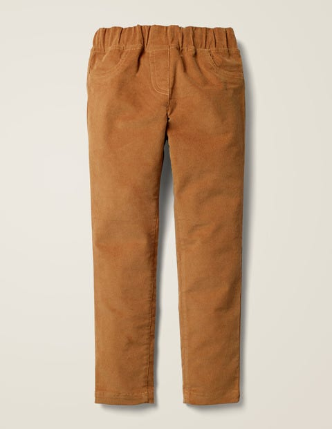 Cord Leggings - Butterscotch Brown