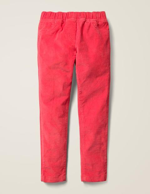 Cord Leggings - Strawberry Tart Red