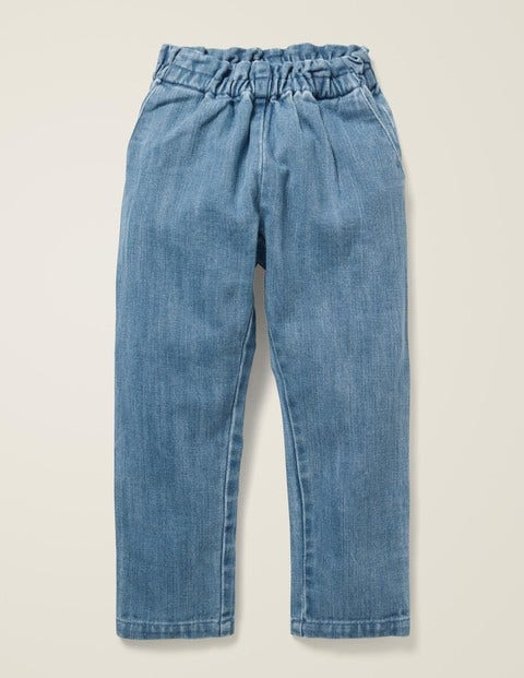 Pull-On Trousers - Chambray
