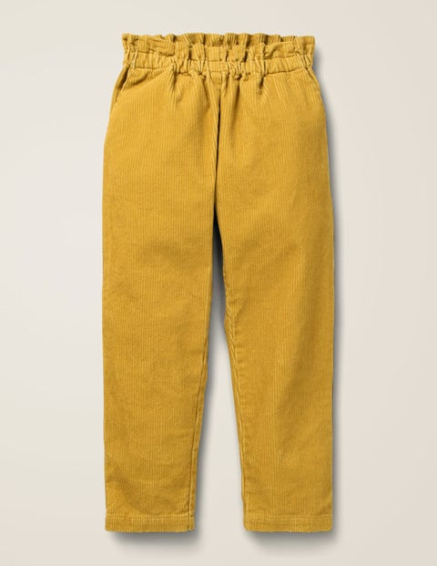 Pull-On Trousers - Mellow Yellow